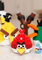 Angry Birds mit LEGO nachgebaut