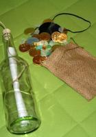 Flaschenpost von Captain Jack Sparrow