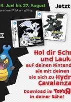 Pokémon Schwarz / Weiß: Holt euch zwei besondere Pokémon
