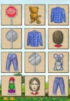 Die kluge Eule: Kunterbunte Bilder zum Vorschul-Lernspiel