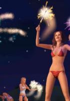 Die Sims 3 Jahreszeiten: Fußball, Schwimmen, Hotdog-Wettessen und Feuerwerke locken in der sonnigen Jahreszeit
