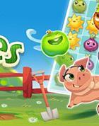 King startet Farm Heroes Saga auf Facebook – neues 3-Gewinnt-Spiel mit 70 Levels
