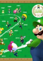 Das Jahr von Luigi: Nintendo veröffentlicht interessante Grafik