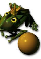 Wurzelimperium krönt seinen Froschkönig