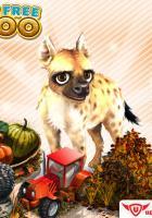 My Free Zoo mit Herbstevent und Hyäne als exklusives Tier