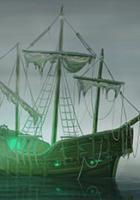 Geisterschiff in ANNO Online gesichtet