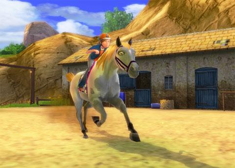 Pferdespiele Mit Springen