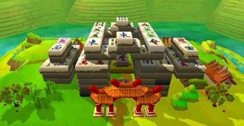 Mahjong-3D-Die-Krieger-des-Kaisers