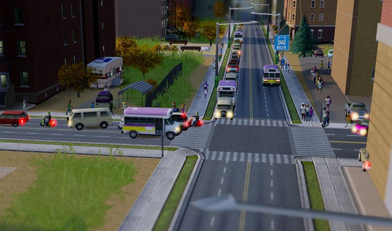 In SimCity gibt es immer etwas zu entdecken, wenn man nahe genug an das Geschehen zoomt.