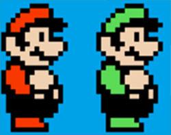 super-mario-luigi-sprites-pixel-nes
