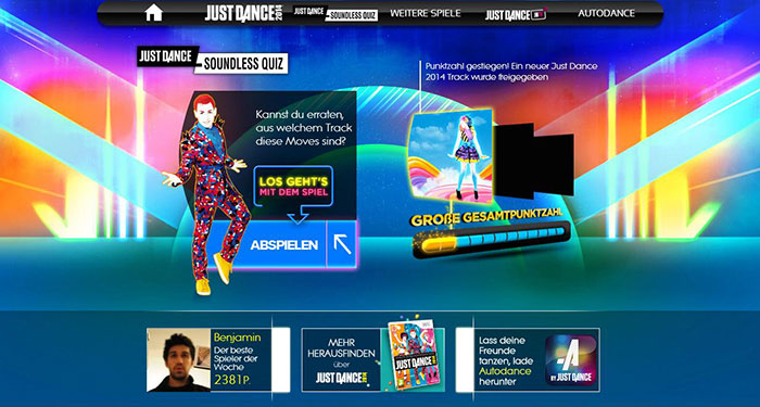 Just Dance Soundless Quiz