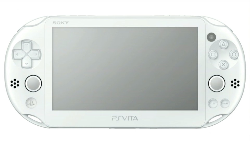 playstation vita white