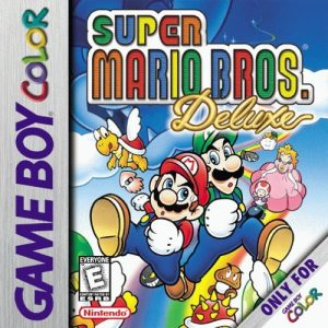 super mario bros deluxe game boy color gbc